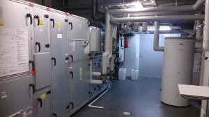 Aggregat för ventilation
