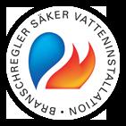 sakervatten-logotype för trygghet